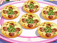 Knusprige Mini-Pizzas